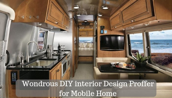 Wondrous DIY Interior Design Proffer for your Caravan or Mobile Home
